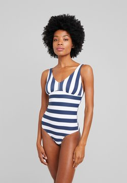Esprit - NORTH BEACH SWIMSUIT PADDED - Badeanzug - dark blue