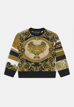 Versace - BAROQUE PRINT MOSAIC UNISEX - Sweater - white/gold/kaki