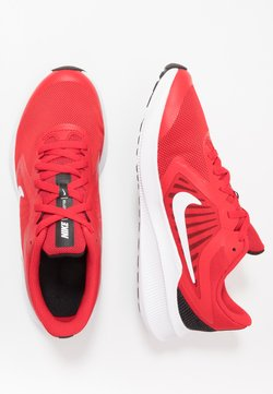 Nike Performance - DOWNSHIFTER 10 - Hardloopschoenen neutraal - university red/white/black