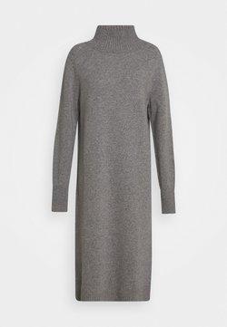 CLOSED - WOMEN´S DRESS - Jumper dress - grey heather melange