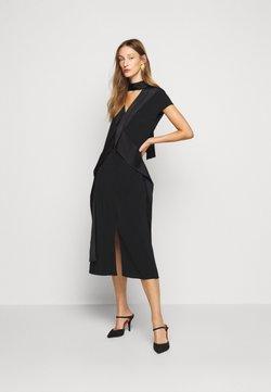 Victoria Victoria Beckham - DIAMOND DRAPE DRESS - Cocktailkleid/festliches Kleid - black