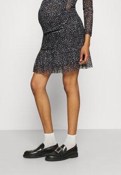LOVE2WAIT - SKIRT - Minifalda - black/white