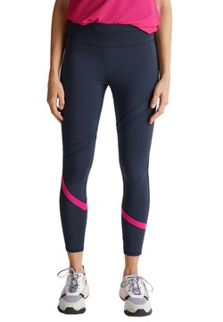 Esprit Sports - ACTIVE MIT E DRY - Tights - navy