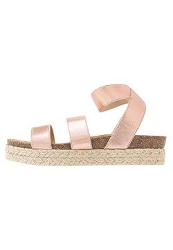 Steve Madden - KIMMIE - Platform sandals - rose gold