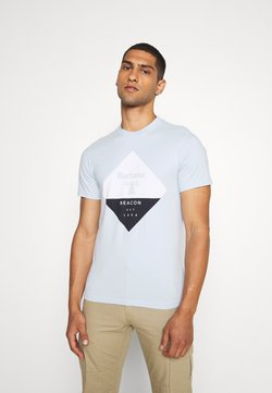 Barbour Beacon - DIAMOND TEE - T-shirt print - pale sky