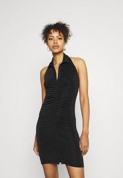 Gina Tricot - DOLLY HALTERNECK DRESS - Cocktailkleid/festliches Kleid - black