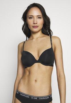 Calvin Klein Underwear - ONE MICRO PLUNGE - trägerloser/variabler BH - black