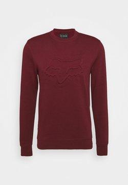 Fox Racing - REFRACT CREW - Sweatshirt - cranberry