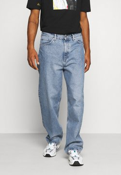 Weekday - GALAXY TROUSERS - Jeans Relaxed Fit - sky blue