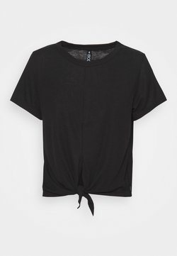 Cotton On Body - TIE UP  - T-Shirt basic - black