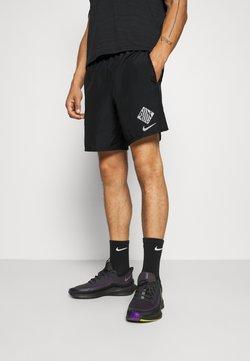 Nike Performance - Sports shorts - black/reflective silver