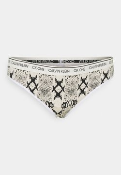 Calvin Klein Underwear - ONE PLUS THONG - Thong - oatmeal heather