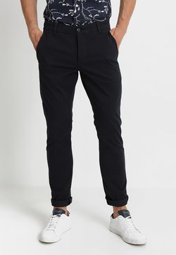 DOCKERS - SMART SUPREME FLEX SKINNY - Chinot - dockers navy