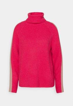 Esprit - ROLLNECK - Strickpullover - pink fuchsia