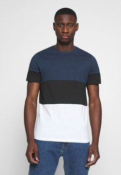 Only & Sons - NEWBAILEY LIFE  - T-shirt imprimé - dress blues