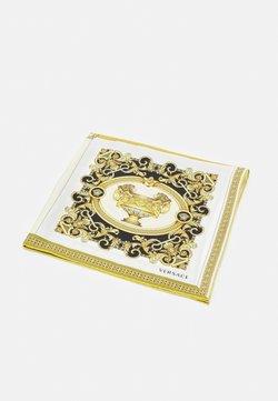 Versace - BAROCCO MOSAIC FOULARD UNISEX - Huivi - bianco/oro/kaki