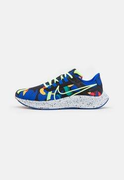 Nike Performance - AIR ZOOM PEGASUS 38 KA UNISEX - Chaussures de running neutres - grain/racer blue/black/glacier blue/lime glow/obsidian