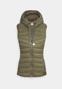 Barbour International - GRID GILET - Smanicato - army green