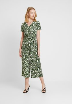 Cortefiel - PRINTED CROPPED - Combinaison - greens