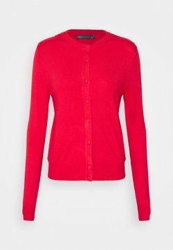 Marks & Spencer London - CREW CARDI PLAIN - Gilet - red