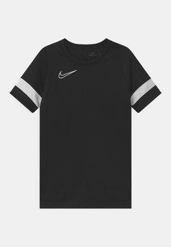 Nike Performance - ACADEMY UNISEX - T-shirt z nadrukiem - black/white