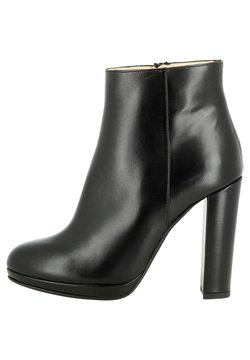 Evita - High Heel Stiefelette - schwarz