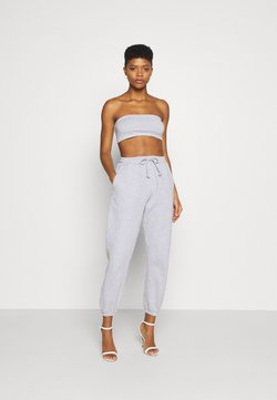 Missguided - 90S SET - Top - grey marl