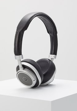 Master & Dynamic - MW50 WIRELESS ON-EAR - Høretelefoner - black/silver-coloured