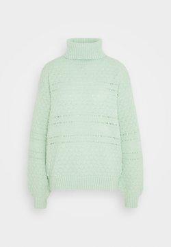 PIECES Tall - PCSHEA HIGH NECK - Jersey de punto - pastel green