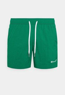 Champion - BEACH - Shorts da mare - dark green