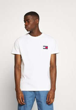 Tommy Jeans - BADGE TEE - T-shirt basic - white