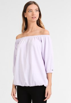 DreiMaster - Damen Shirt - Langarmshirt - hellflieder