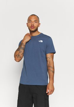 The North Face - REDBOX TEE - T-Shirt print - vintage indigo