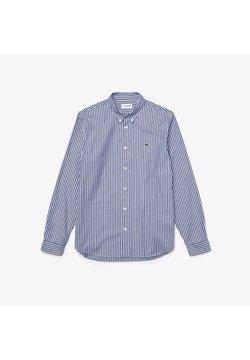 Lacoste - Hemd - weiß / blau