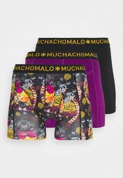 MUCHACHOMALO - THUGY 3 PACK - Shorty - black/purple