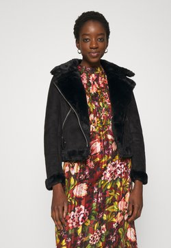 New Look - ANNA AVIATOR - Jacka i konstläder - black