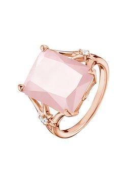 THOMAS SABO - RING 925 STERLINGSILBER, 750 ROSÉGOLD VERGOLDUNG - Ring - pink, weiß, roségoldfarben