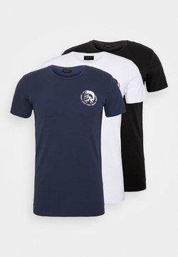 Diesel - UMTEE RANDAL 3 PACK - Basic T-shirt - white/dark blue/black