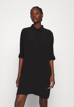 Zign - Vestido camisero - black