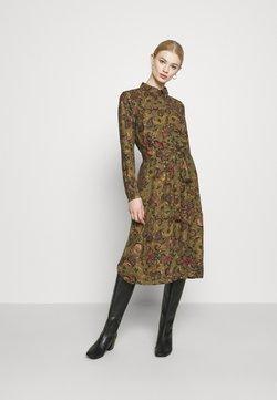 Vero Moda - VMLALLIE CALF DRESS  - Vestido camisero - kalamata