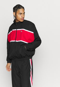 Lacoste Sport - Giacca sportiva - black/red/white