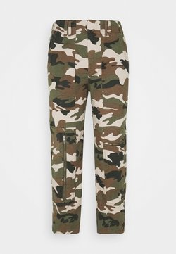 DRYKORN - WORKERS - Stoffhose - dark green