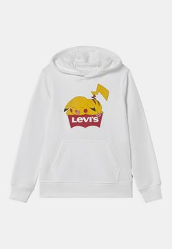 Levi's® - POKEMON HOODIE UNISEX - Collegepaita - white