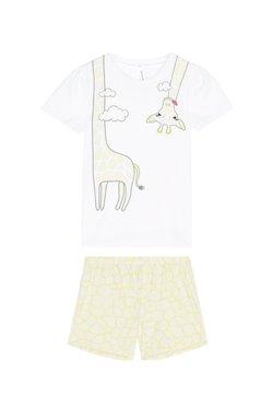 Tezenis - GIRAFFE - Nachtwäsche Set - bianco st.giraffa