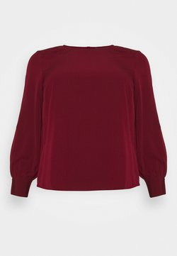 Vero Moda Curve - VMGABRINA - Langarmshirt - cabernet