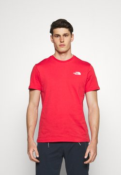 The North Face - SIMPLE DOME TEE - T-shirt basique - rococco red
