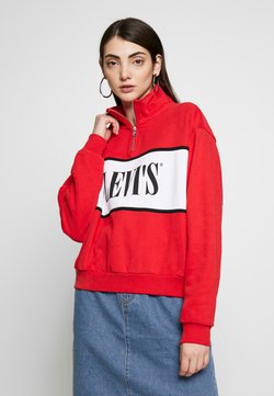 Levi's® - LOGO - Sweatshirt - brilliant red