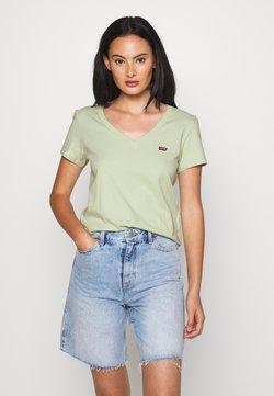 Levi's® - PERFECT VNECK - T-shirt basique - greens