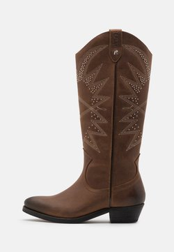 Replay - NEW MANDY SADIE - Cowboy-/Bikerboot - brown