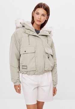 Bershka - Winterjacke - green